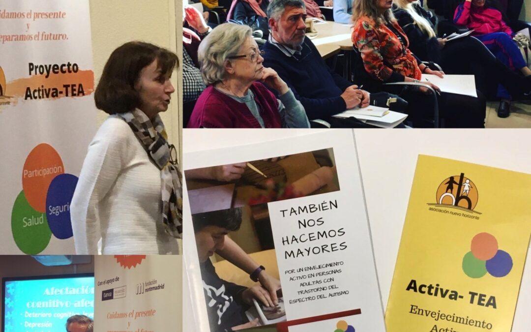Jornada de divulgación del proyecto Activa-TEA en Nuevo Horizonte
