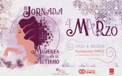 Abiertas las inscripciones para la III Jornada Mujeres en el Autismo