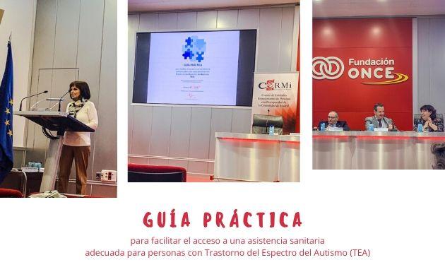 Presentación de la guía práctica para facilitar el acceso a una asistencia sanitaria adecuada para personas con TEA