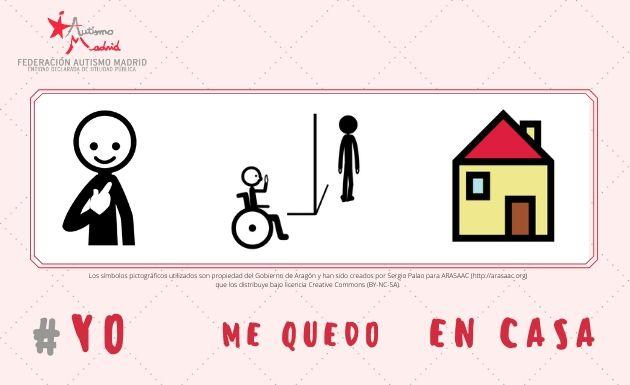 Desde Autismo Madrid nos sumamos a #YoMeQuedoEnCasa