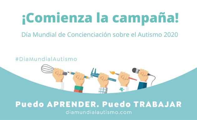Arranca la campaña del Día Mundial de Concienciación sobre el Autismo 2020