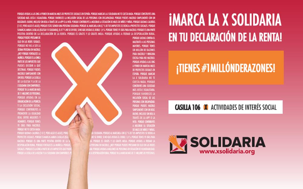 Este año más que nunca marca la X Solidaria