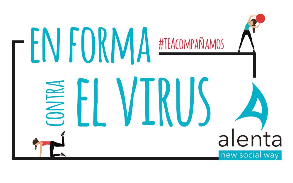 En forma contra el virus con los vídeos de Alenta