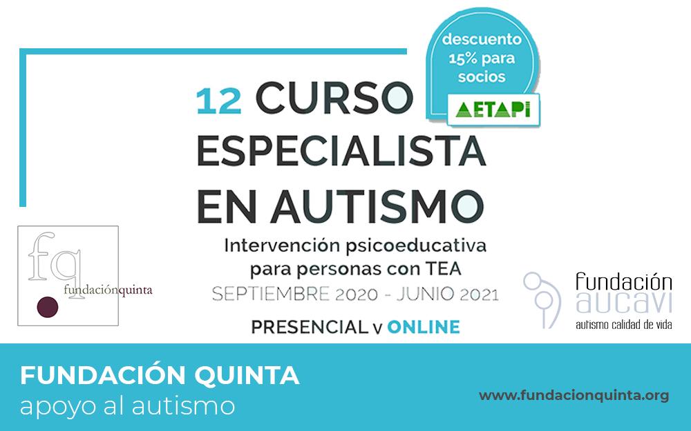 12 edición del curso Especialista en Autismo de Fundación Quinta