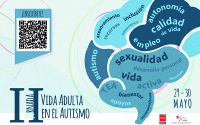 II Jornada Vida Adulta en el Autismo – 29 y 30 de mayo 2020