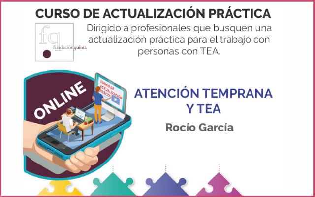 Sesión de actualización práctica: «Atención temprana y TEA» de Fundación Quinta