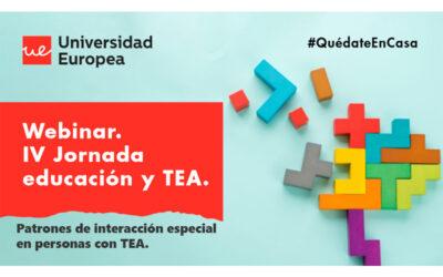 IV Jornada Educación y TEA organizada por Universidad Europea y Autismo Madrid