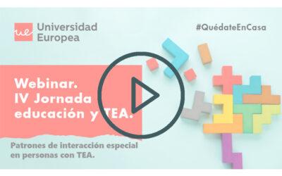 Ya están disponibles todas las ponencias de la IV Jornada Educación y TEA
