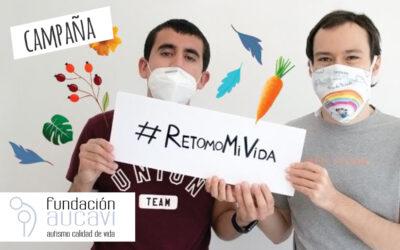 Fundación AUCAVI lanza la campaña #RetomoMiVida