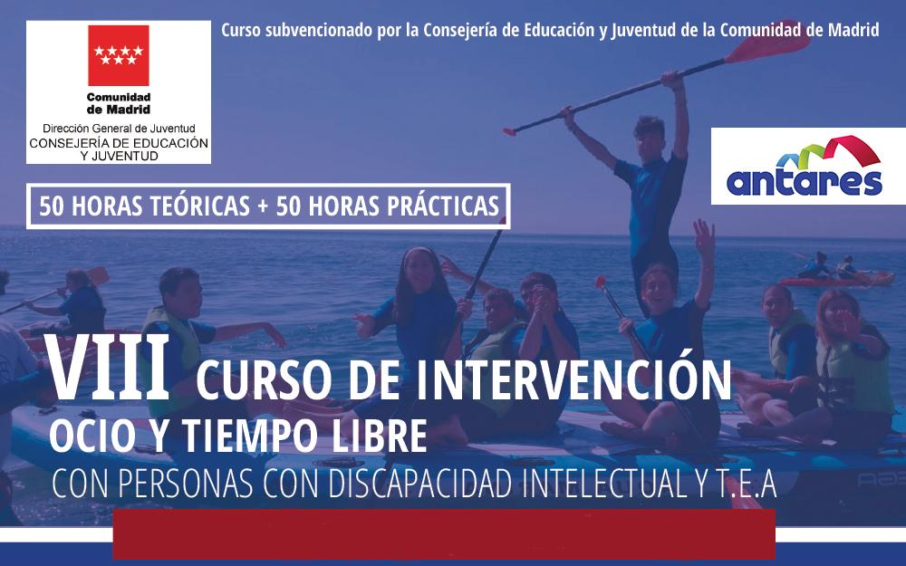 Nuevas fechas para el VIII Curso de Intervención en Ocio y Tiempo Libre – Octubre/noviembre 2020