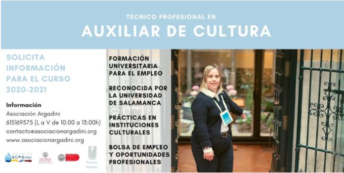 Curso de Técnico profesional en auxiliar de cultura ofrecido por Asociación Argadini