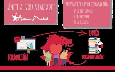 Formación en voluntariado con Autismo Madrid