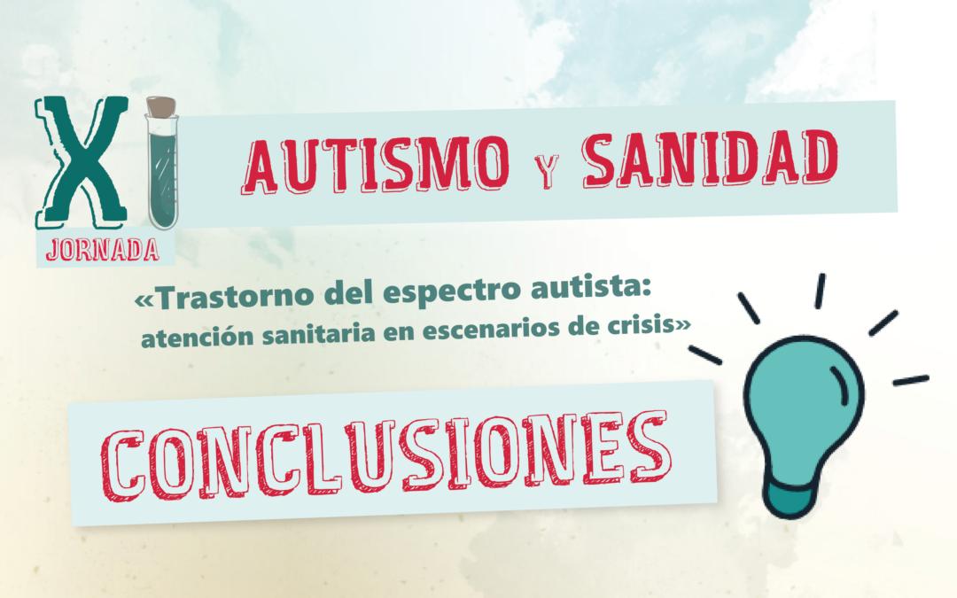 Conclusiones XI Jornada Autismo y Sanidad 2020