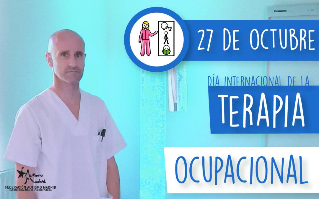 En el Día Mundial de la Terapia Ocupacional entrevistamos a Juan Carlos Rueda, terapeuta de APNA