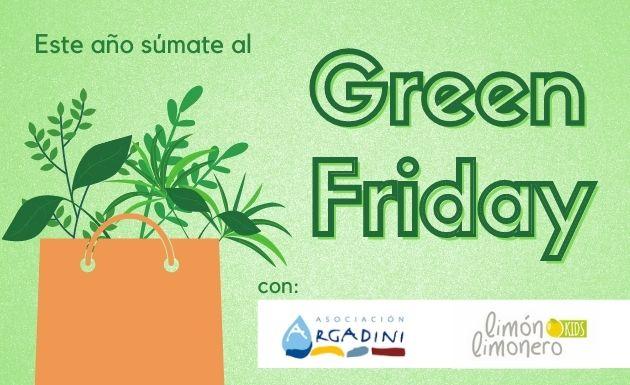 Este año súmate al Green Friday con Limón Limonero Kids y Argadini