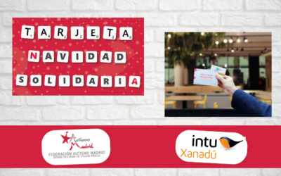 Autismo Madrid e intu Xanadú entregan las Tarjetas Navidad Solidaria