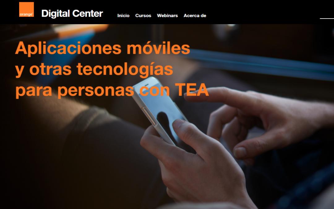 «Aplicaciones móviles y otras tecnologías para personas con TEA»  de Fundación Orange y la Universidad Autónoma de Madrid