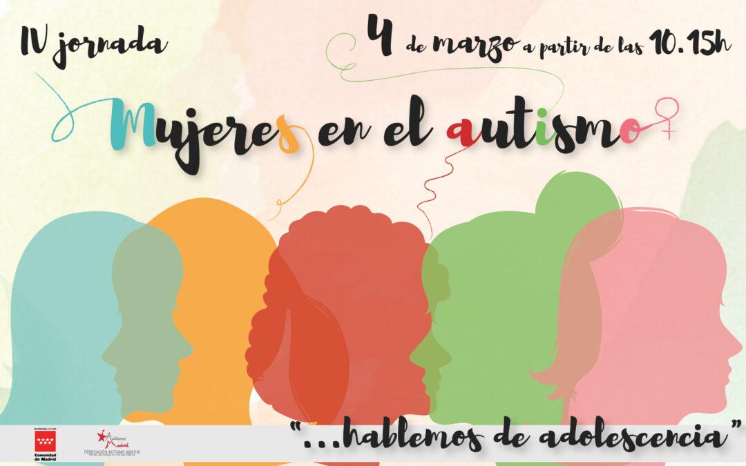 IV Jornada Mujeres en el Autismo – Hablemos de adolescencia
