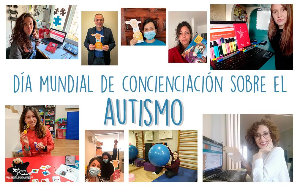 Autismo Madrid se suma a la campaña por el Día Mundial de Concienciación sobre el Autismo