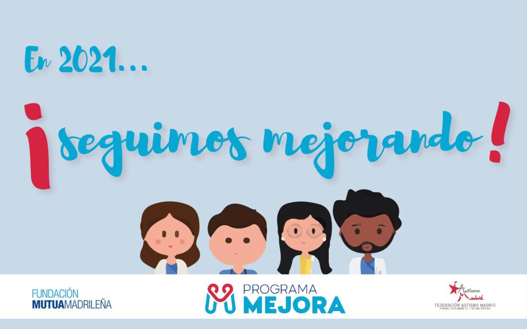 En 2021 continúa el Programa Mejora gracias a Fundación Mutua Madrileña