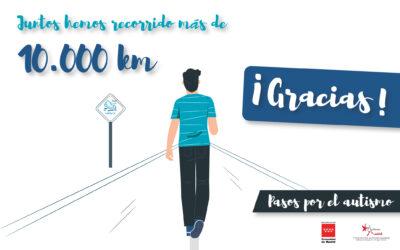 Más de 10.000 Km sumados en Pasos por el Autismo