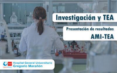 AMI-TEA presenta los resultados principales de las investigaciones en relación con la línea TEA