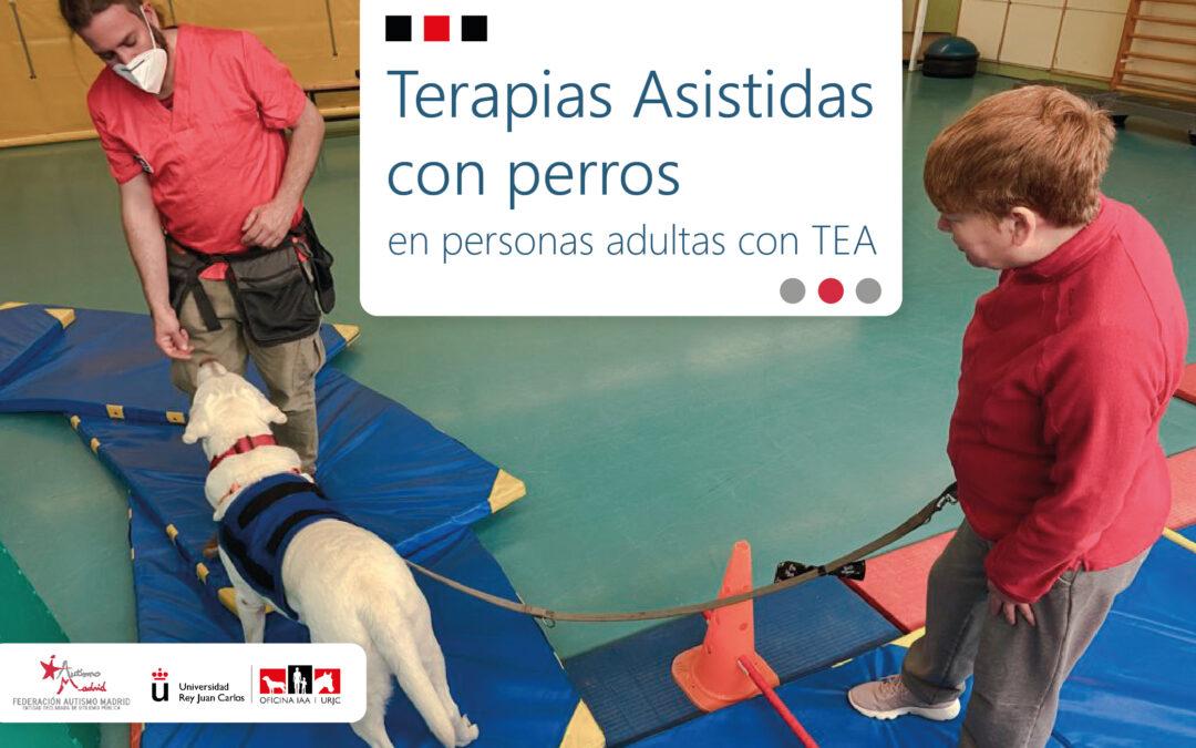 Autismo Madrid y la URJC presentan un proyecto de Terapias Asistidas con perros en personas adultas con TEA
