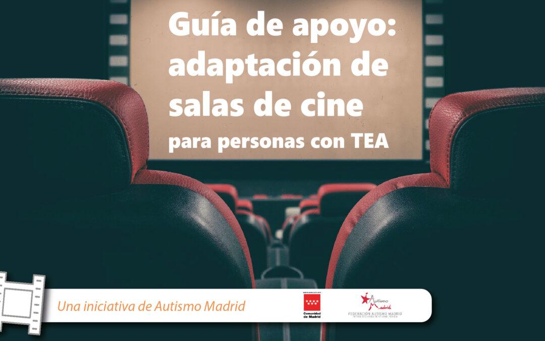 Guía de apoyo: adaptación de salas de cine para personas con TEA