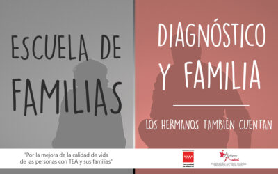 Taller Escuela de Familias: «Diagnóstico y familia. Los hermanos también cuentan»