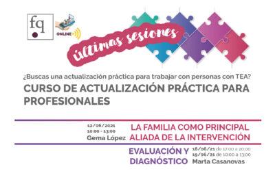 Últimas sesiones del curso de actualización práctica de Fundación Quinta