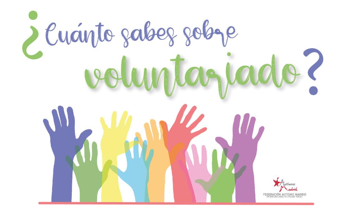 ¿Cuánto sabes sobre voluntariado?