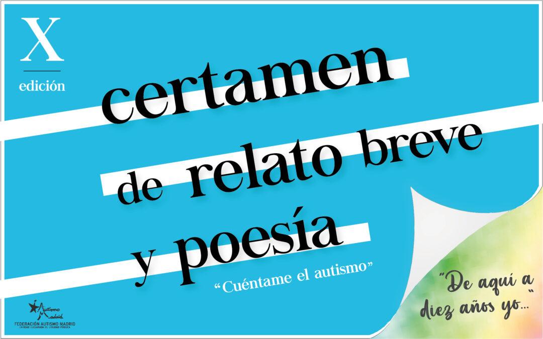 X Edición del certamen de relato breve y poesía «Cuéntame el Autismo»