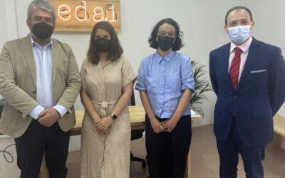 La Junta directiva de Federación Autismo Madrid visita las instalaciones de su nueva entidad socia EDAI