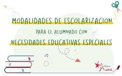 Modalidades de escolarización para el alumnado con necesidades educativas especiales