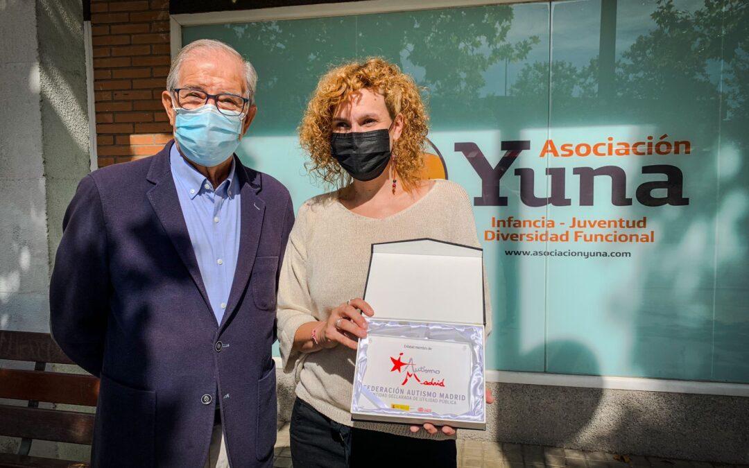 Autismo Madrid visita las instalaciones de la Asociación Yuna, nueva entidad socia