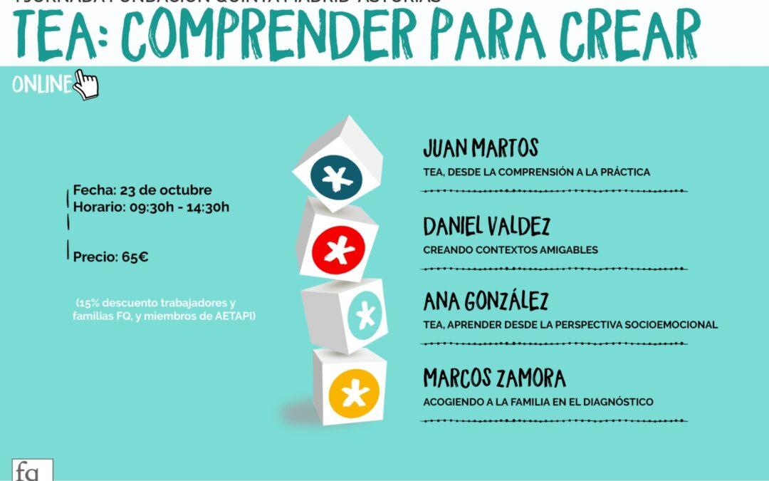 Jornada TEA «Comprender para crear» de Fundación Quinta