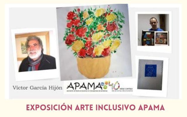 Exposición Arte Inclusivo de APAMA